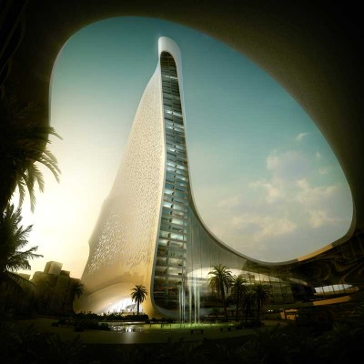 UAE Tower building design by Snøhetta architects Norway
