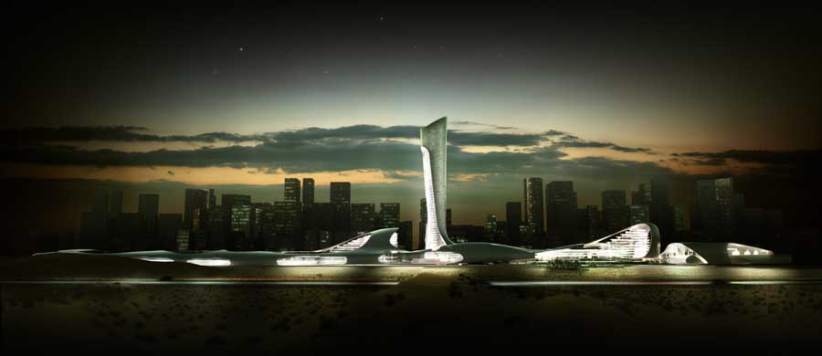 Ras Al Khaimah Gateway 5 E Architect