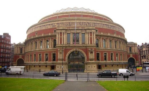 Royal Albert Hall London building