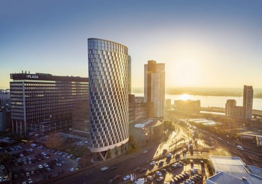 Ovatus Towers Liverpool design by Stephen Hodder Architect