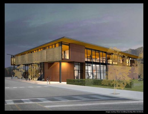 Sun Valley Center for the Arts Idaho building design by Tom Kundig