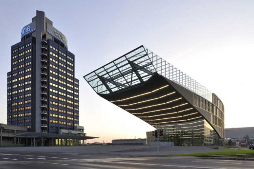 Voest Steelworks Offices Linz, Austria