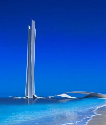 Wave Tower Dubai Building