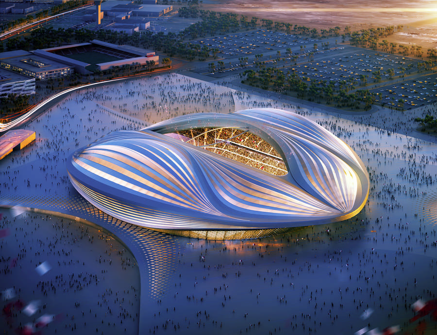 football gallery world qatar stadiums pictures