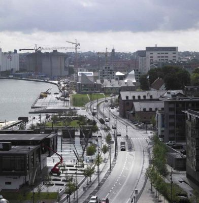 Aalborg Waterfront Buildings by CF Møller Architects