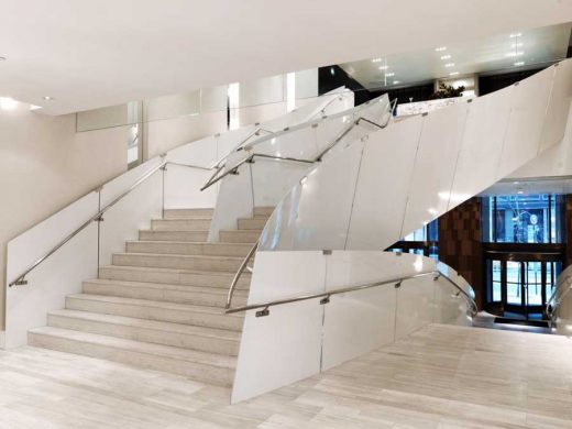 Andaz Hotel Wall Street New York building stairs