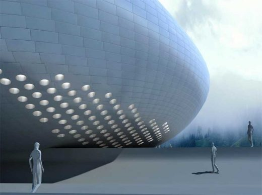 Art Museum of Yue Minjun China building design