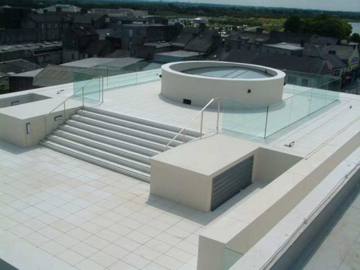 Athlone Civic Centre roofscape