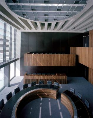 Athlone Civic Centre Building chamber interior