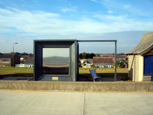 Beach Hut Mablethorpe design by Feix&Merlin Architects