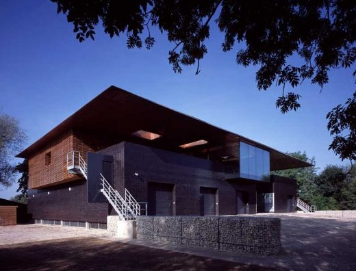 Oxford Boathouse building design by Belsize Architects