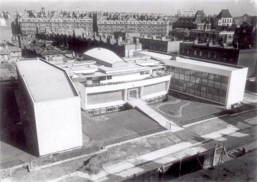 Finsbury Health Centre building design by Berthold Lubetkin Architect