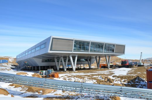 Bharati Research Station - Antarctica Building