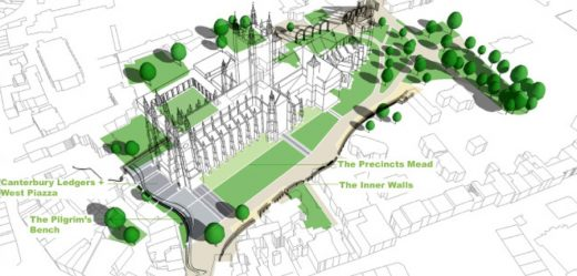 Canterbury Cathedral Landscape Design Competition proposal