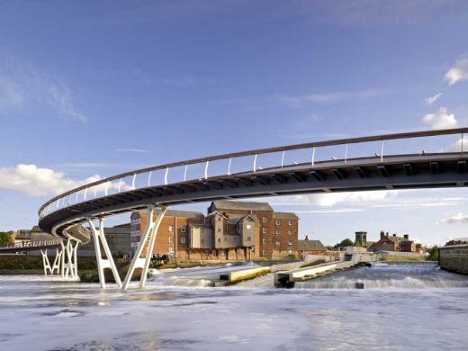 Castleford Bridge design by McDowell+Benedetti