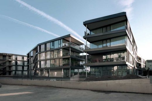 Cattaneo Building: Apartments, Offices, Dietikon Building