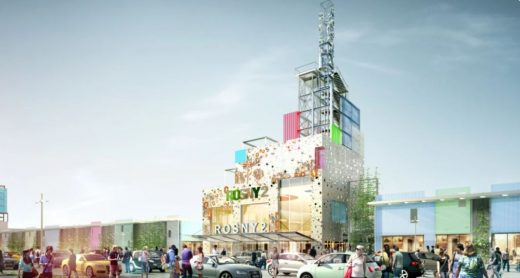 Centre commercial Rosny 2 France design by DGLa Architects
