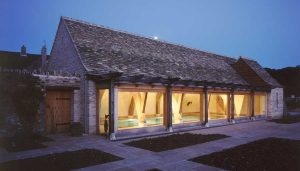 Scottish Timber House Structure