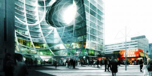 Coolsingel Project Rotterdam Building by OMA