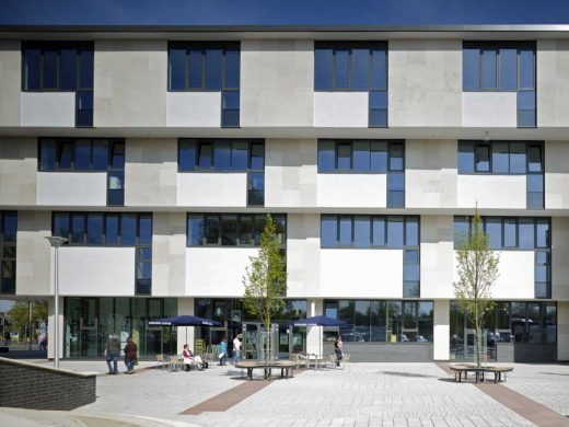 Crawley Library West Sussex design by Penoyre Prasad Architects