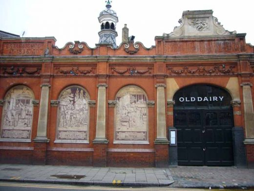 Crouch Hill Dairy building London