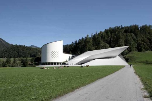 Erl building Tyrol by Delugan Meissl Associated Architects