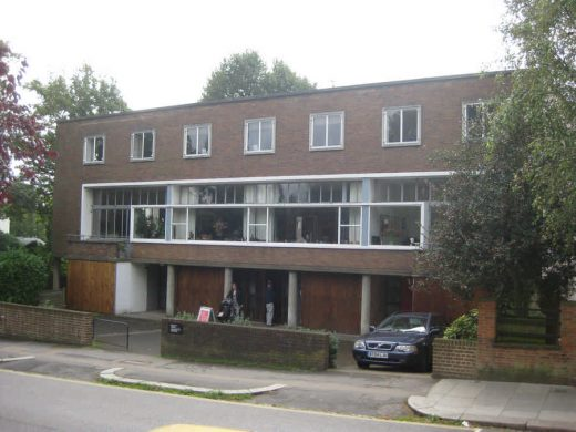 2 Willow Road Hampstead House by Erno Goldfinger Architect