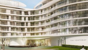 The Fontenay Luxury Hotel Hamburg Germany building