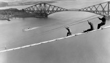 Forth Bridge Construction Scotland