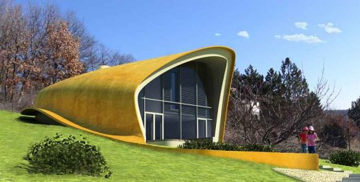 Free form new house in Hungary
