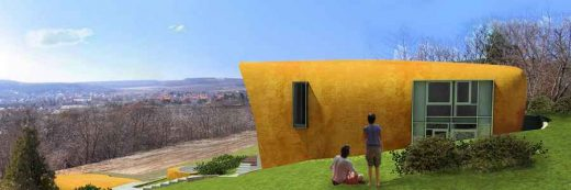 Free form house in Hungary