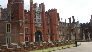 Hampton Court Palace building London England