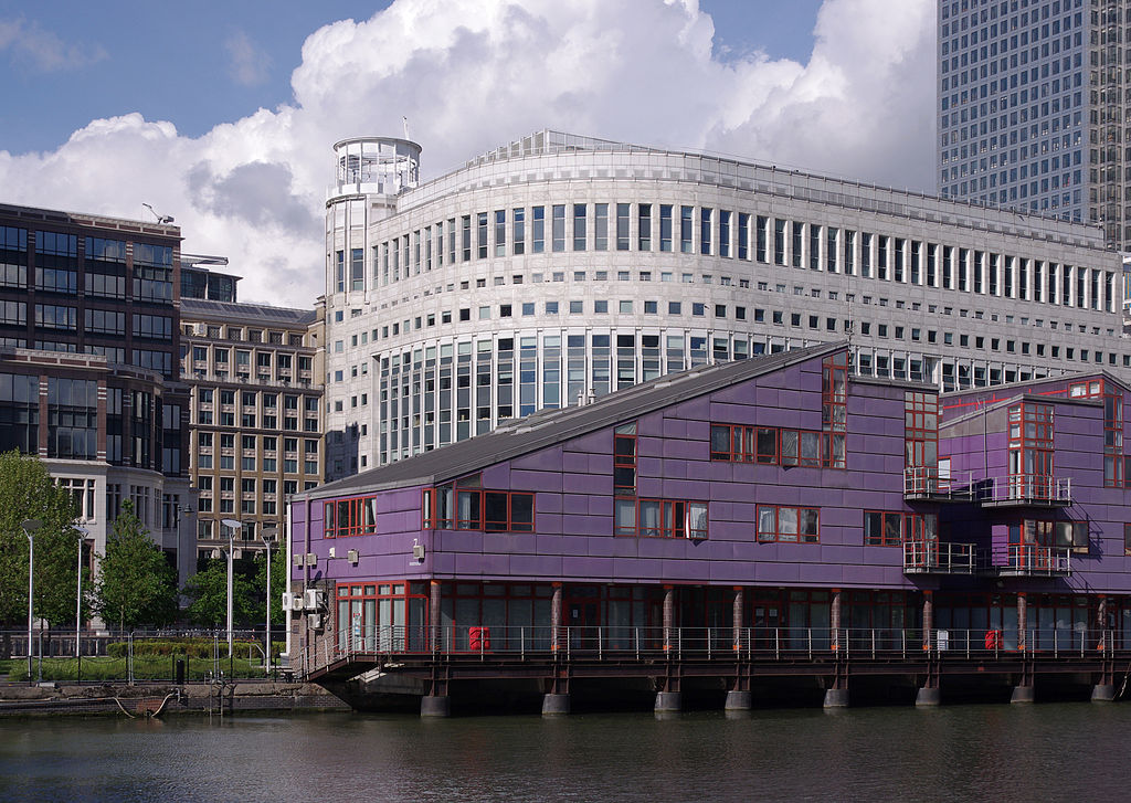 Heron Quays property, Canary Wharf London Docklands design by Nicholas Lacey Jobst Architects