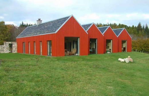 Rosshire House in the Scottish Highlands