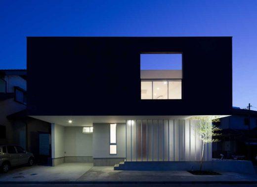 House in Yotsukaido, contemporary Chiba home