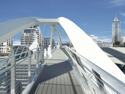 The Jubilee Bridge London by One-World Design Architects