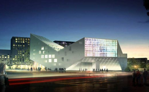 Youth Centre Lille, France by Julien de Smedt Architects