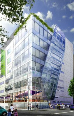 Great Ormond Street Hospital Building design by Ken Yeang Architect