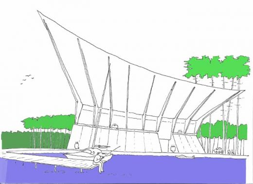 Latvian Design Competition in Jurmala by Gareth Hoskins Architects