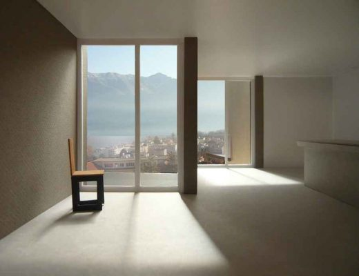 Locarno Apartments, Swiss Residential Building