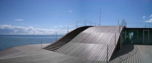 Maritime Youth House Copenhagen building ramps stairs