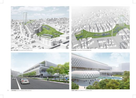 Mass Studies Architects Taichung City Cultural Center Building