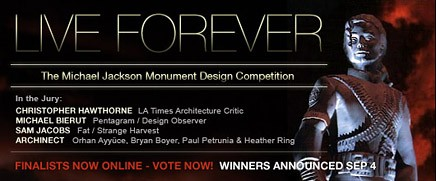 Michael Jackson Monument Design Competition Live Forever