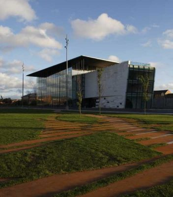 Middlesbrough art gallery building