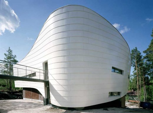 Finnish Houses - Moby Dick House, Espoo Finland