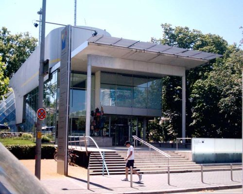 German Post Museum design by Behnisch & Partner Architects