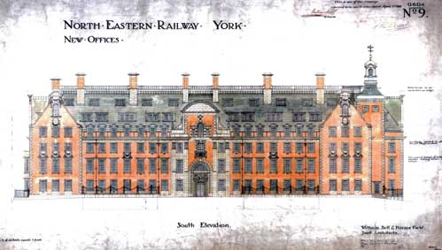 North Eastern Railway Company Offices conversion