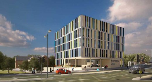 Northampton Innovation Centre building design