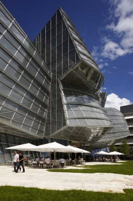 Novartis Global Headquarters Basel by Frank Gehry architect
