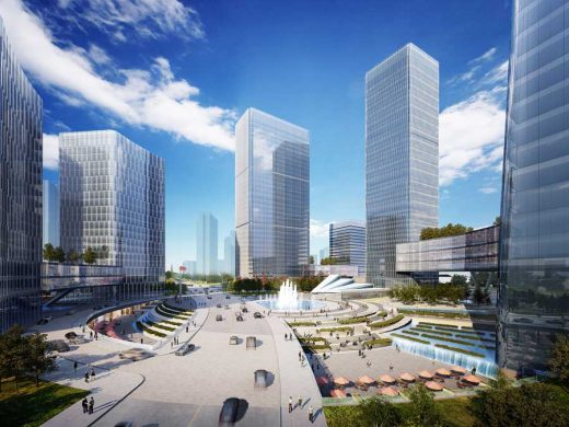 Pazhou District Masterplan Guangzhou Buildings